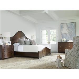 Wood Panel Bedroom Group