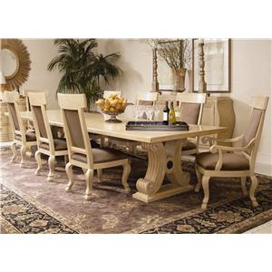 Century Caravelle Dining Table with 8 Chairs