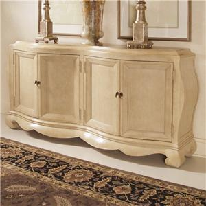 Century Caravelle Credenza with Marble Inserts