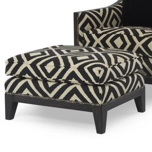Century Chair Svelte Ottoman by Century at Baer's Furniture