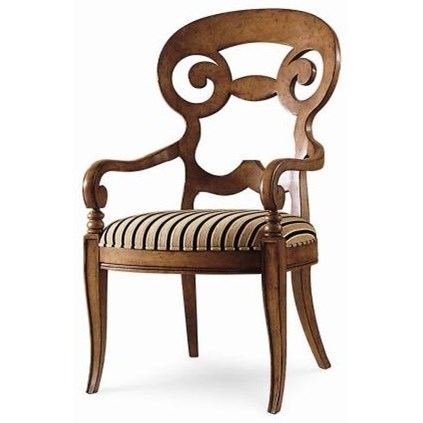 Century Chair Vienna Arm Chair by Century at Baer's Furniture