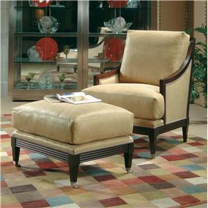 Century Century Chair Metro Chair and Ottoman Set