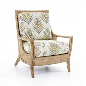 Bar Harbor Rattan Chair