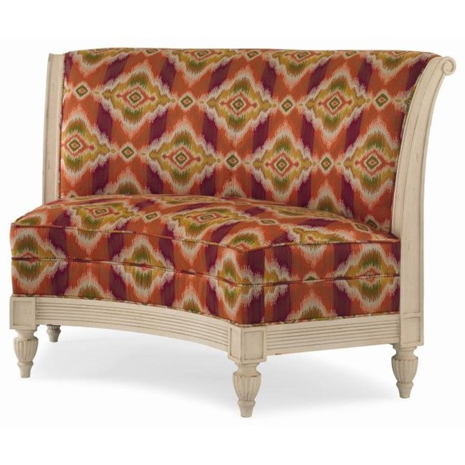 Century Chair Marisol Banquette by Century at Baer's Furniture