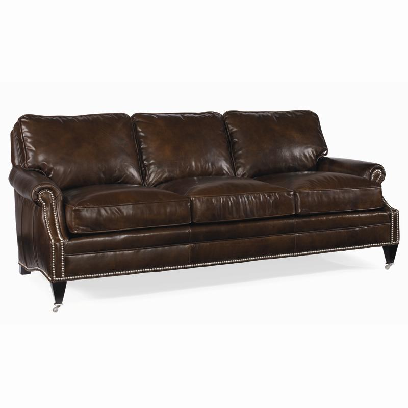 Century Leather Essex Sofa by Century at Baer's Furniture