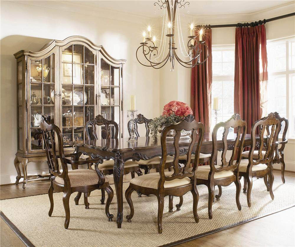 Coeur De France Table and Chair Set by Century at Baer's Furniture