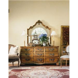 Century Coeur De France Dresser and Mirror Combo