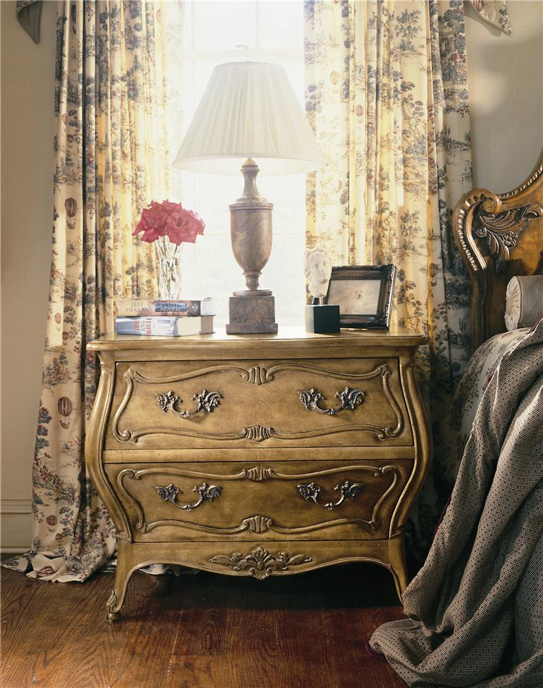 Coeur De France Nightstand/Bedside Table by Century at Baer's Furniture