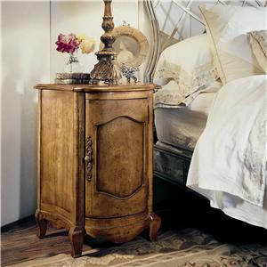 Century Coeur De France End Table/Nightstand