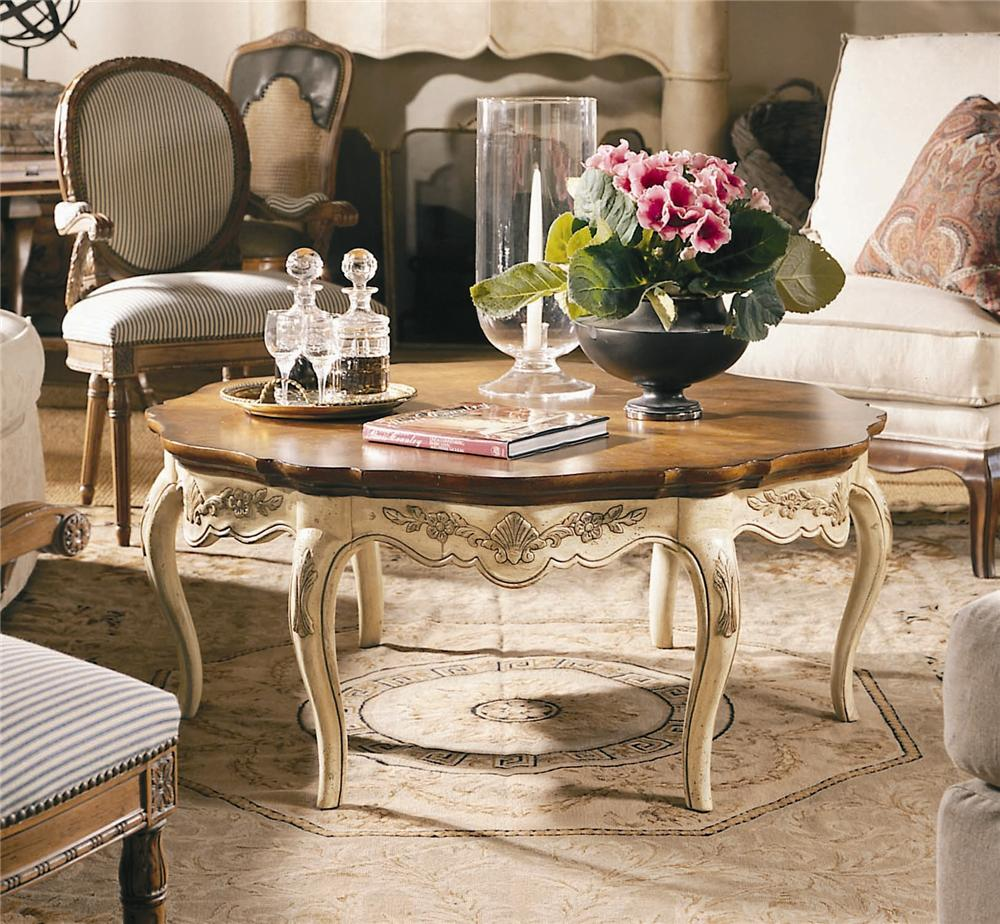 Coeur De France Cocktail-Coffee Table by Century at Baer's Furniture
