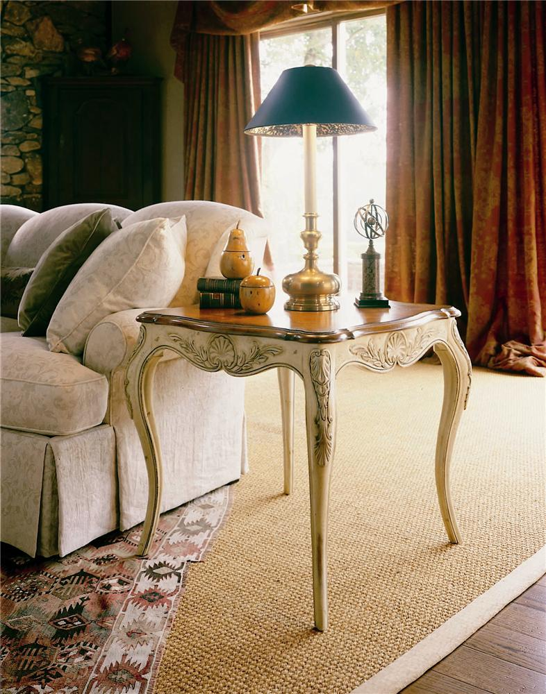 Coeur De France End/Lamp Table by Century at Alison Craig Home Furnishings