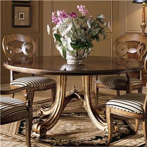 Century Consulate Hortense Round Dining Table
