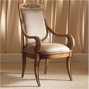 Century Consulate Thronos Dining Arm Chair