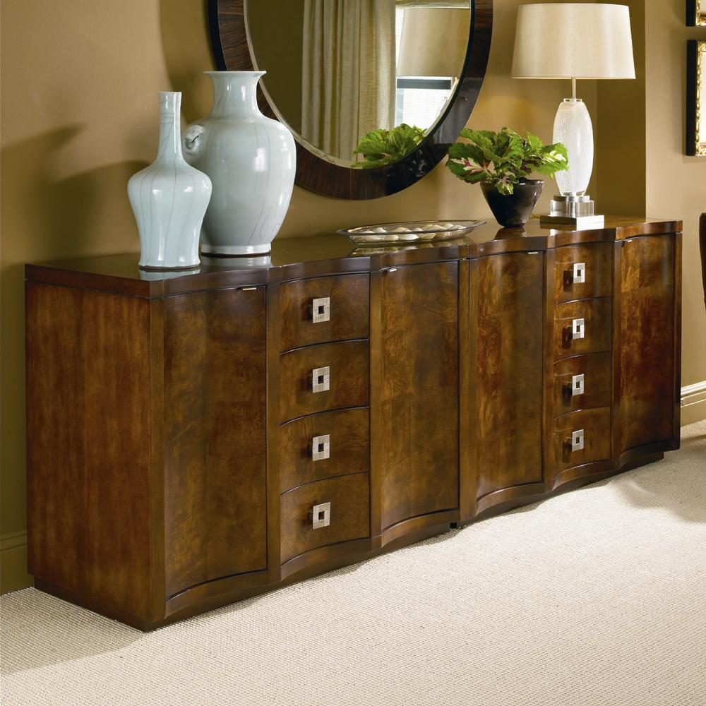 Omni Two Chests Paired Together by Century at Alison Craig Home Furnishings