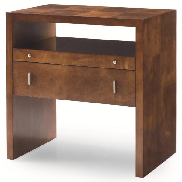 Omni Night Stand by Century at Alison Craig Home Furnishings
