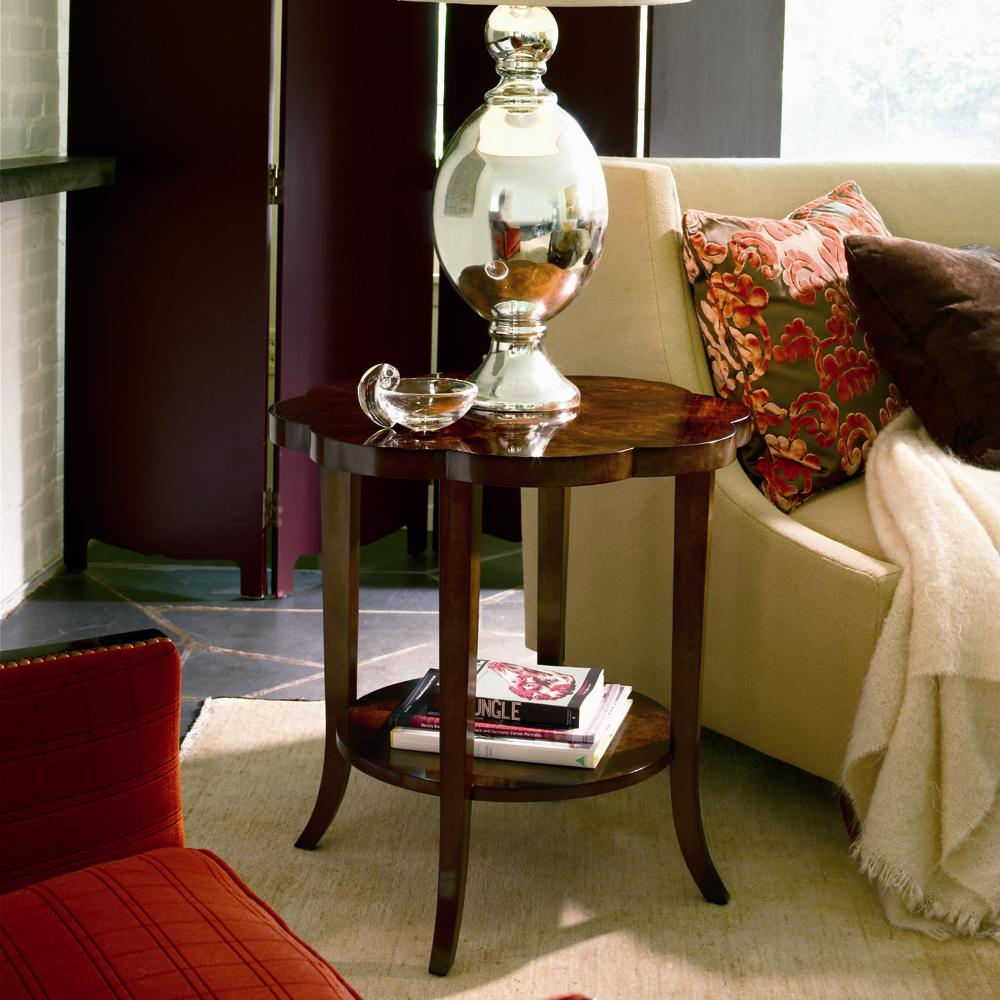Omni Lamp Table  by Century at Baer's Furniture