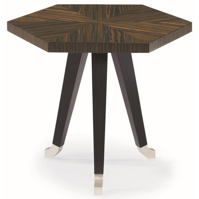 Omni Martini Table by Century at Baer's Furniture
