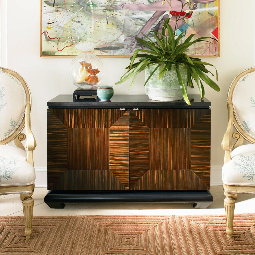 Omni Door Chest with Granite Top by Century at Baer's Furniture