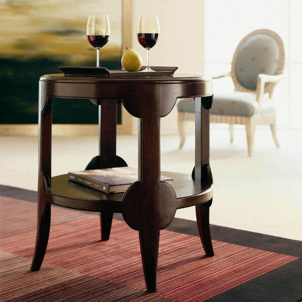 Century Classics Round Lamp Table by Century at Baer's Furniture
