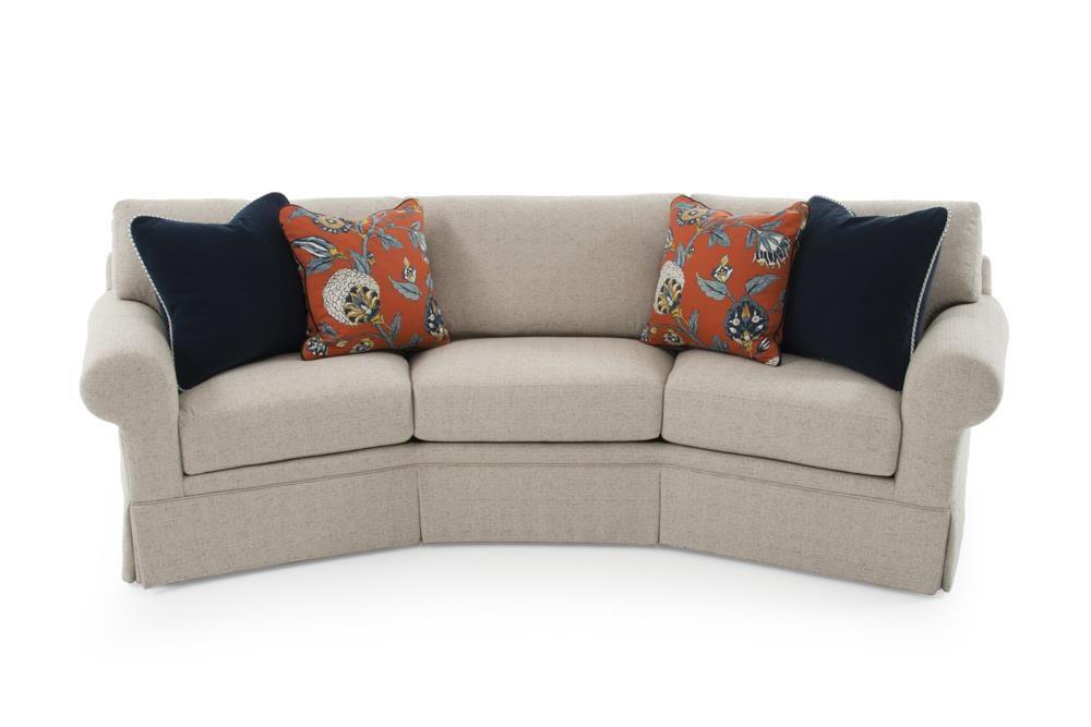 Cornerstone  <b>Customizable</b> Conversation Sofa by Century at Baer's Furniture