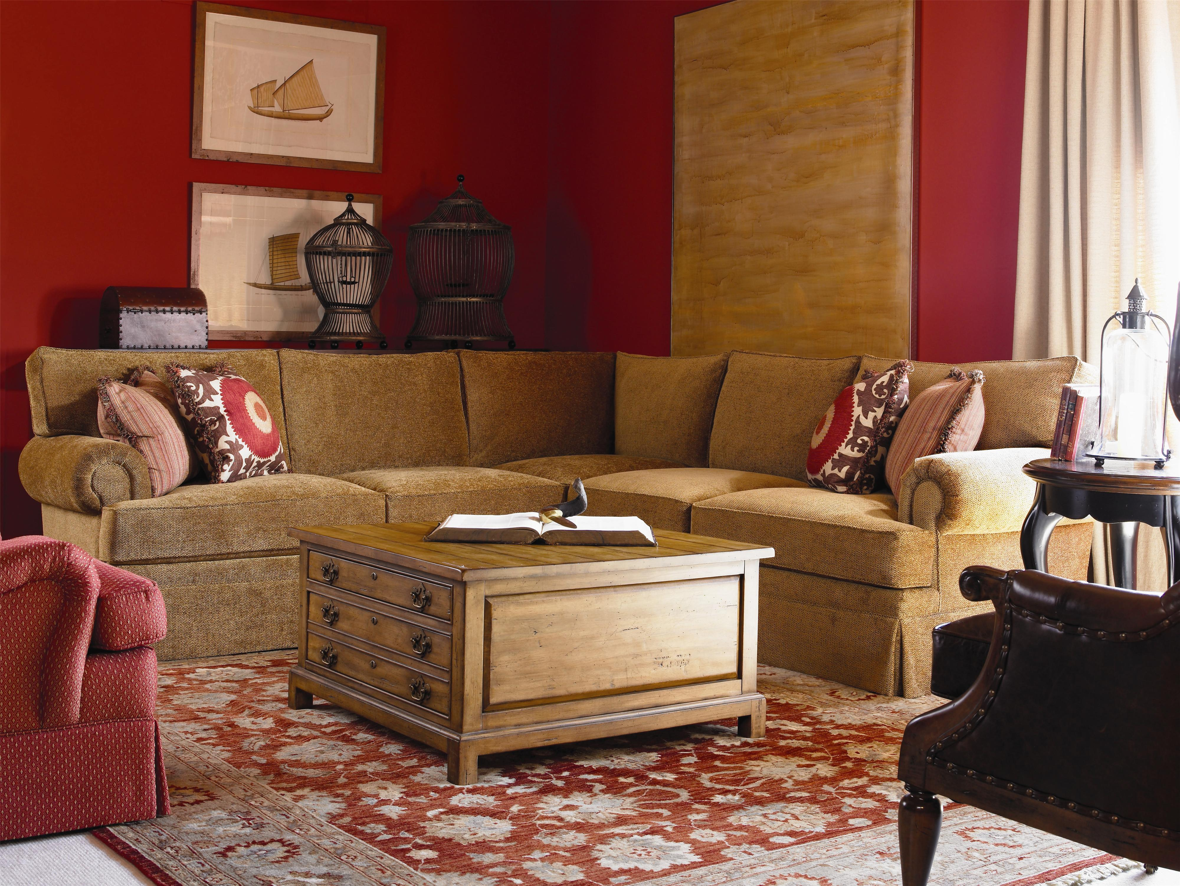 Cornerstone  <b>Customizable</b> Sectional Sofa by Century at Baer's Furniture