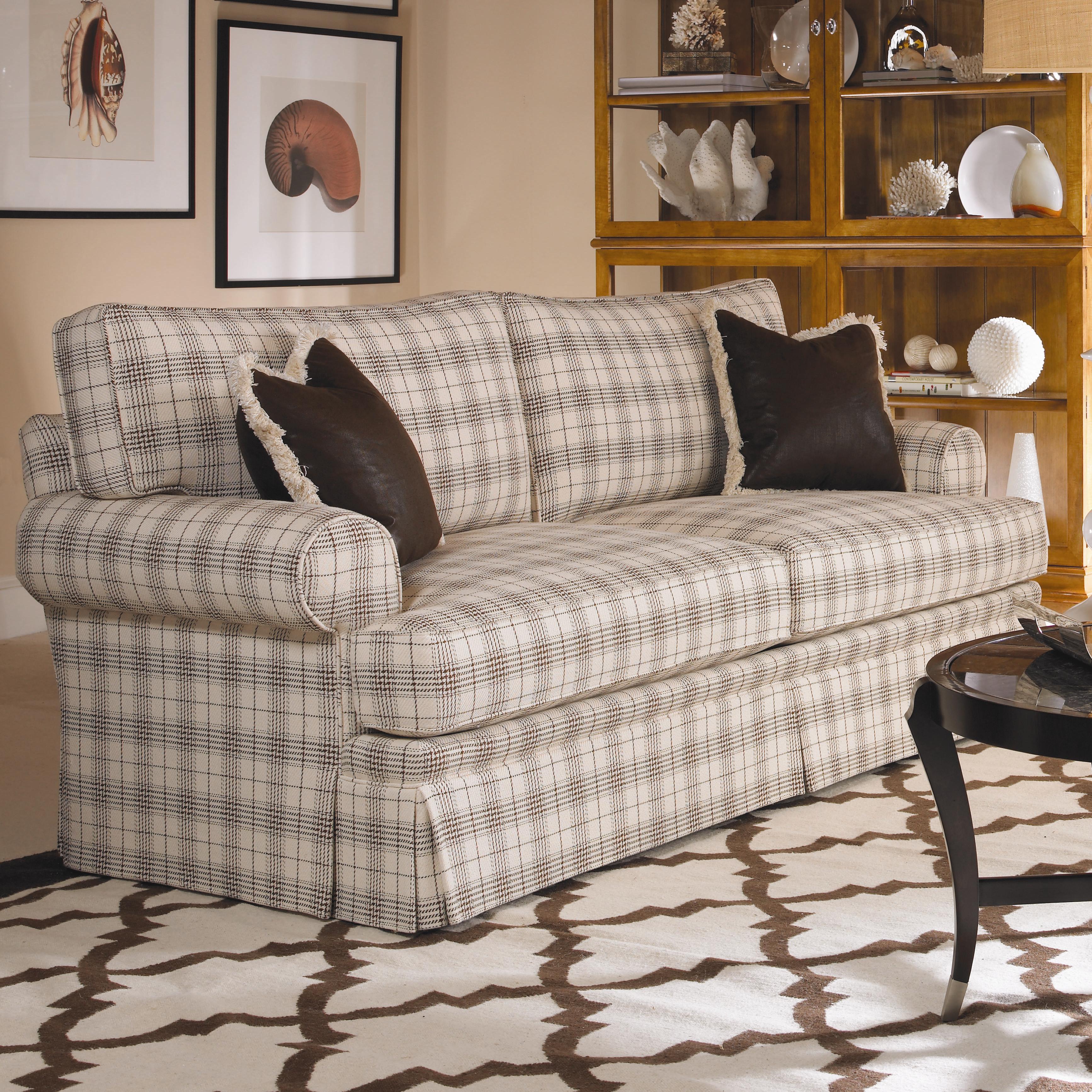 Cornerstone  <b>Customizable</b> Stationary Sofa by Century at Baer's Furniture