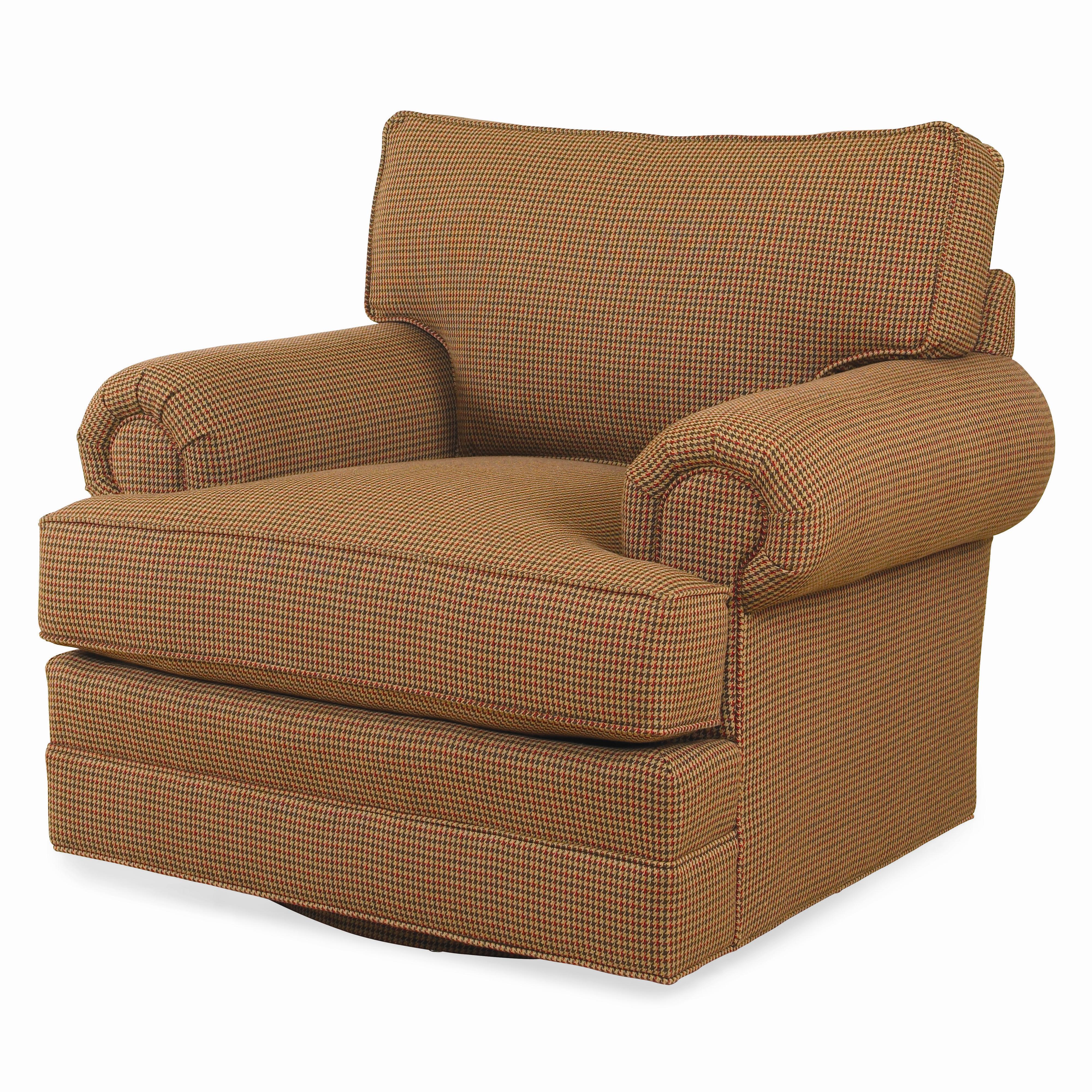 Cornerstone  <b>Customizable</b> Swivel Chair by Century at Baer's Furniture