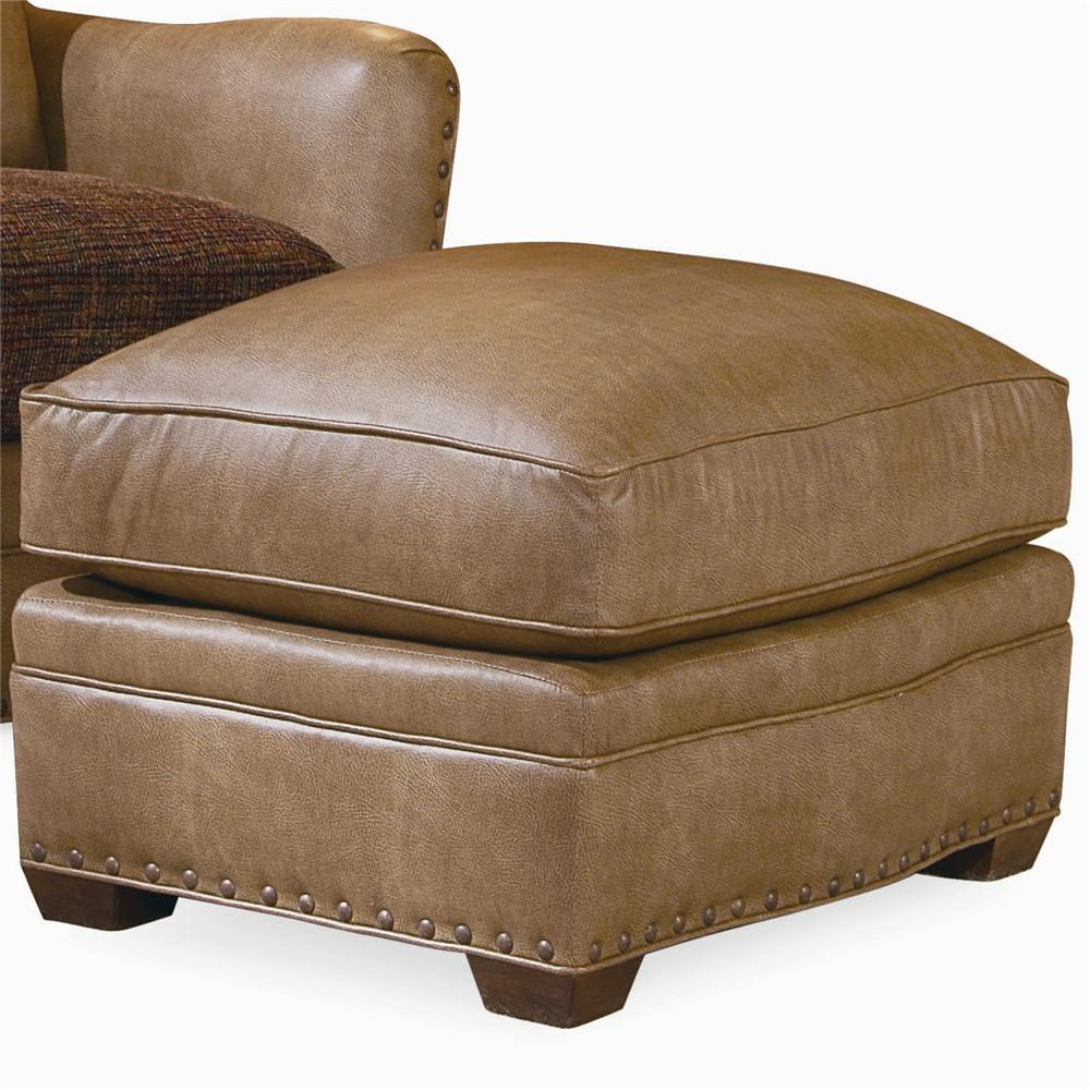 Elegance Upholstered Ottoman by Century at Baer's Furniture