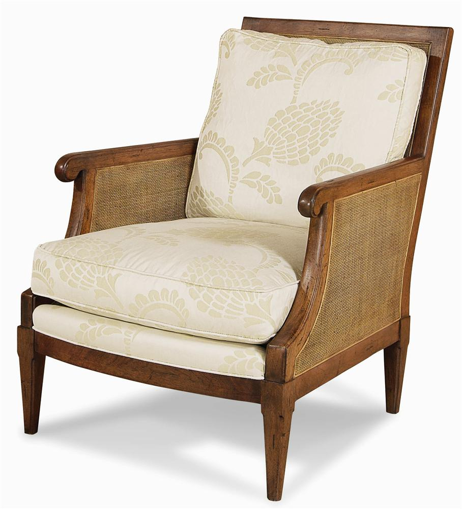 Elegance  Exposed Wood Chair by Century at Baer's Furniture