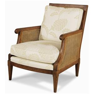 Century Elegance  Exposed Wood Chair