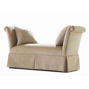 Century Elegance  Upholstered Bench