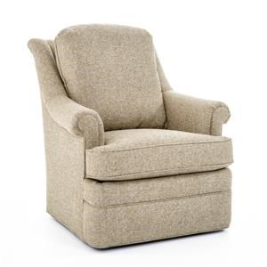 Tyler Loose Cushion Swivel Chair