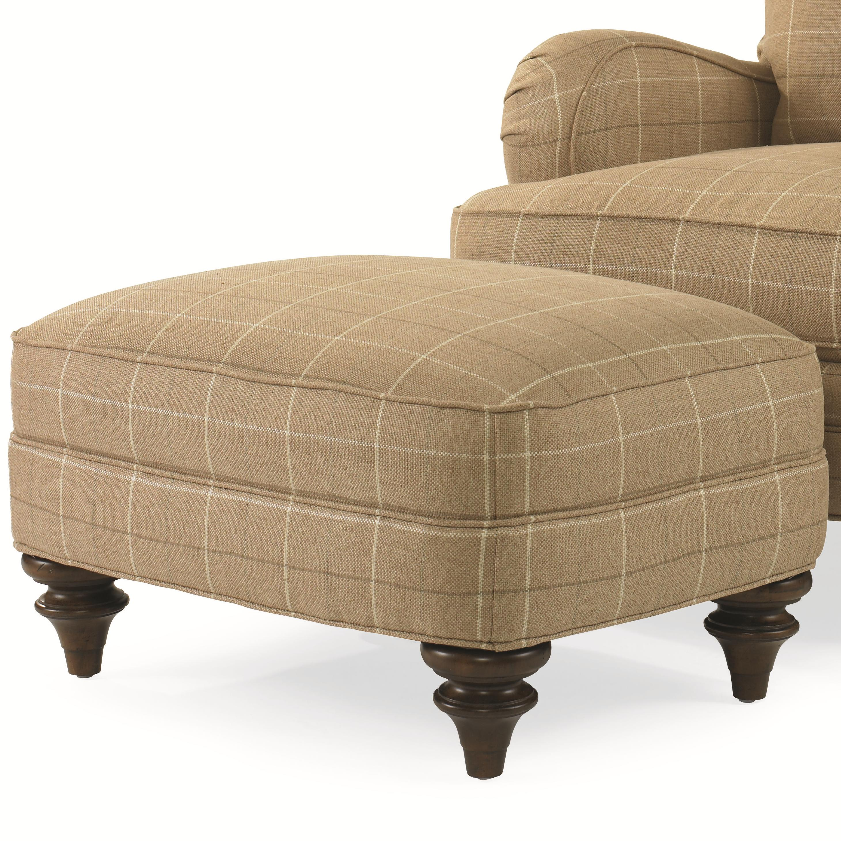Elegance  Kent Ottoman by Century at Baer's Furniture