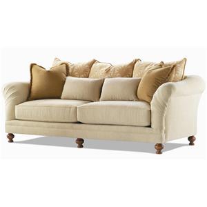 Century Elegance  Upholstered Sofa