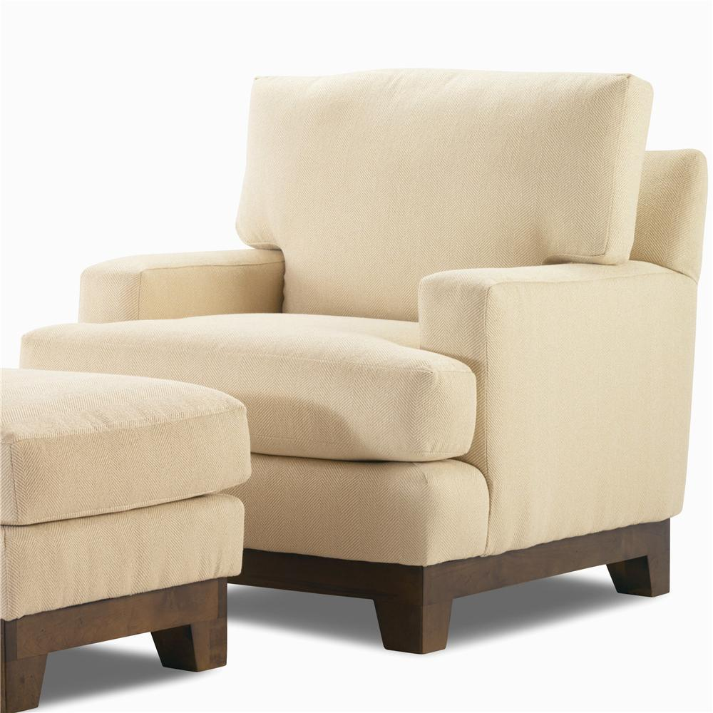 Elegance  Upholstered Chair by Century at Baer's Furniture