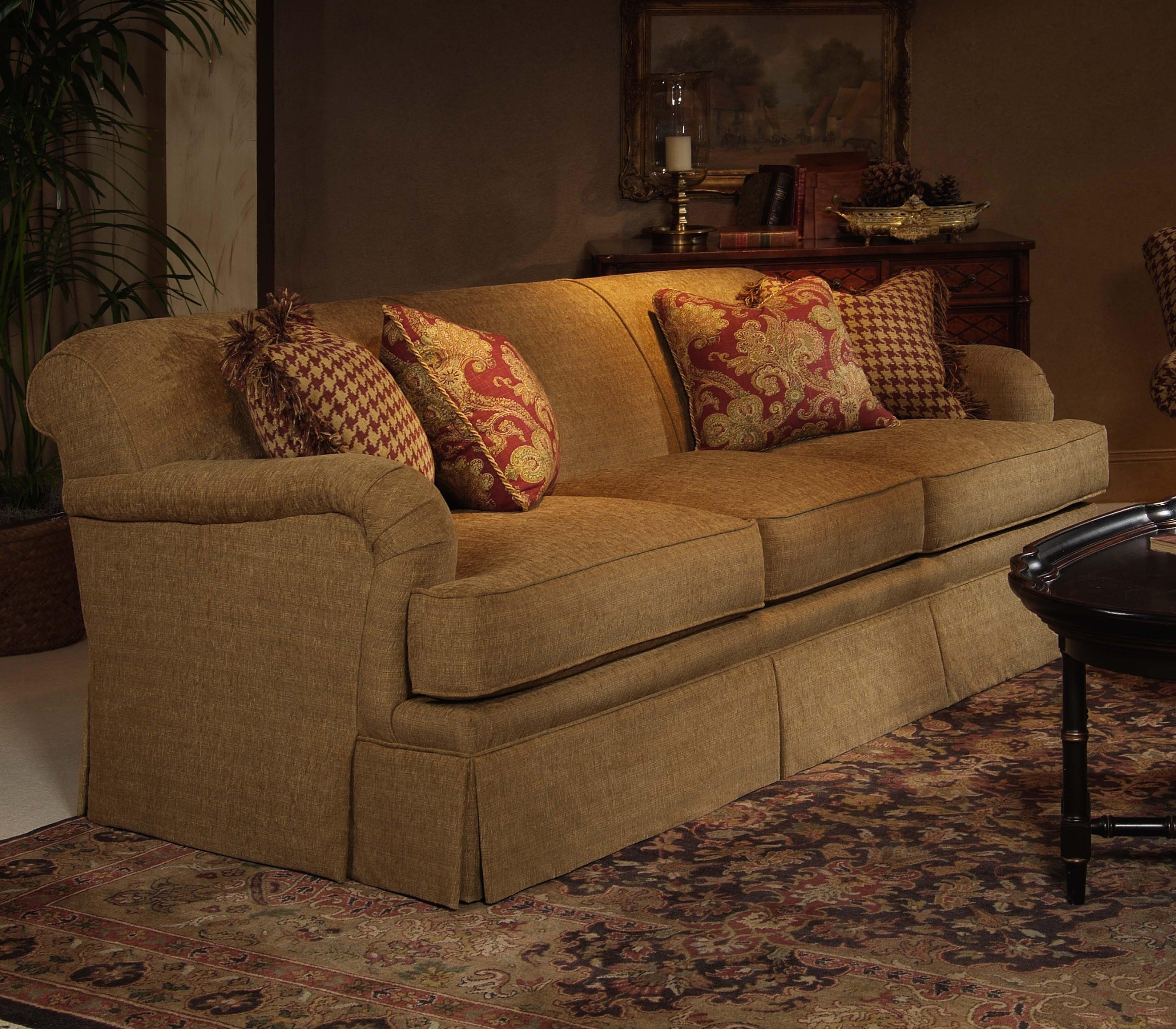 Elegance  Stationary Sofa by Century at Baer's Furniture