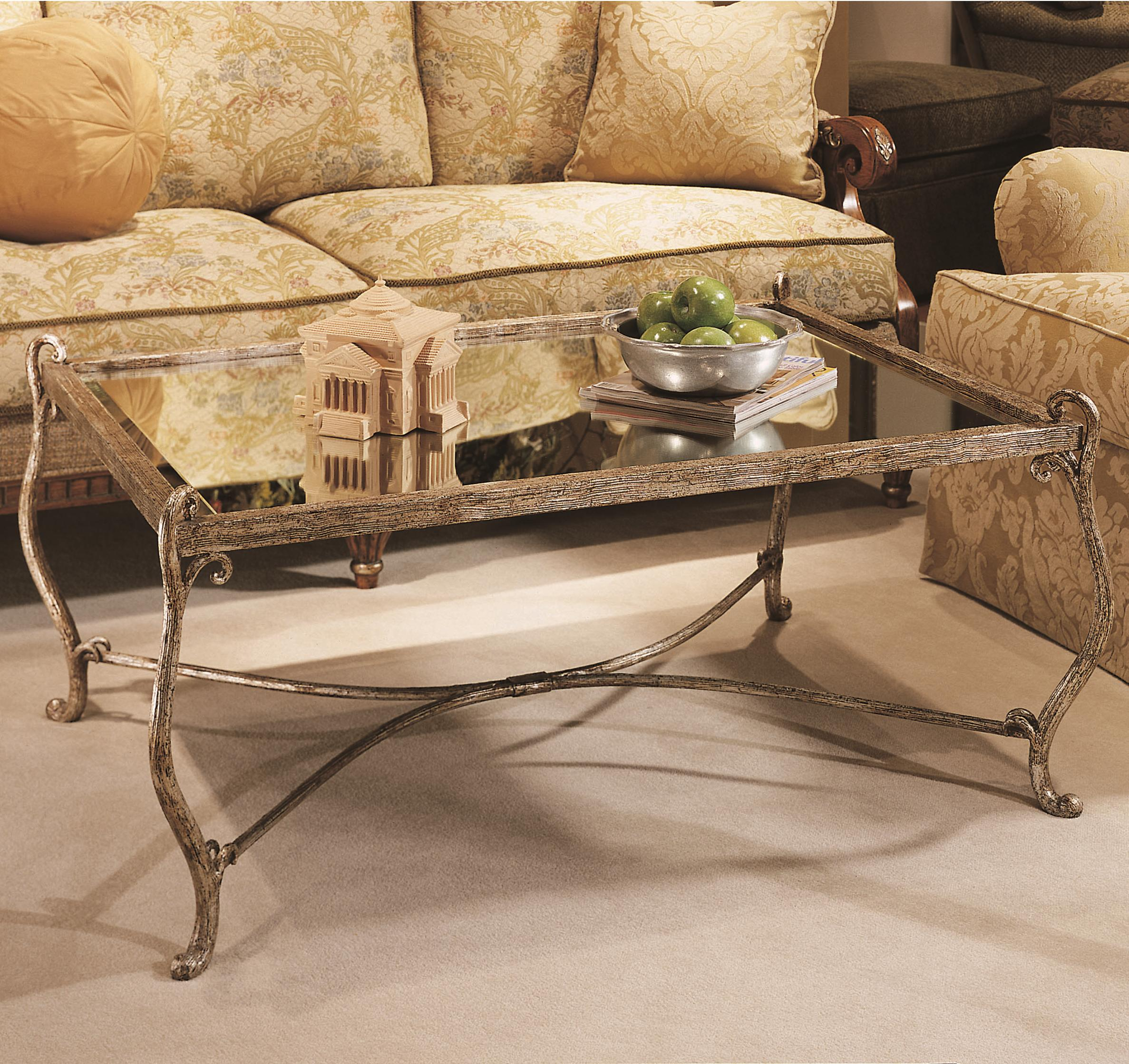Grand Tour Cocktail Table by Century at Alison Craig Home Furnishings