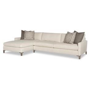 Great Room Sectional with Throw Pillows