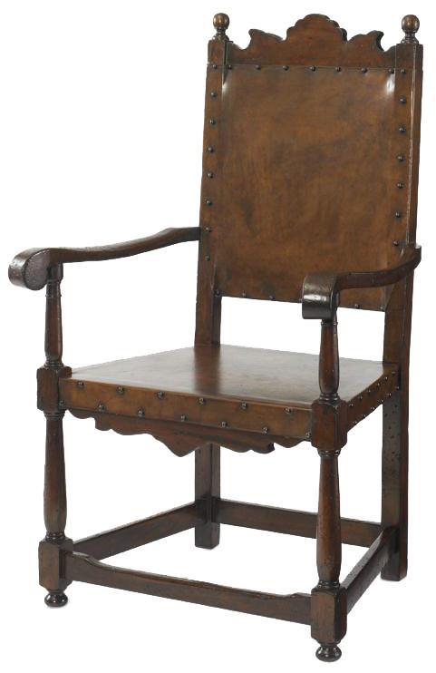 Marbella 661 Basilo Arm Chair by Century at Alison Craig Home Furnishings