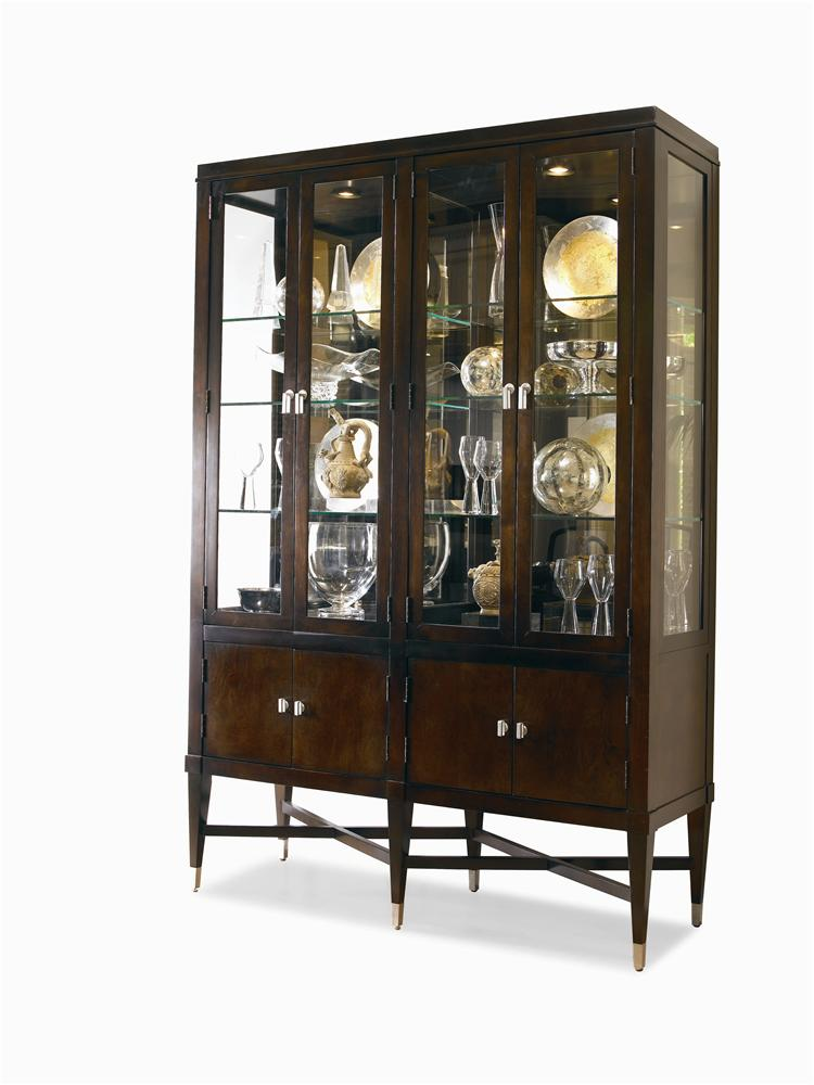 Metro Lux China Cabinet by Century at Baer's Furniture