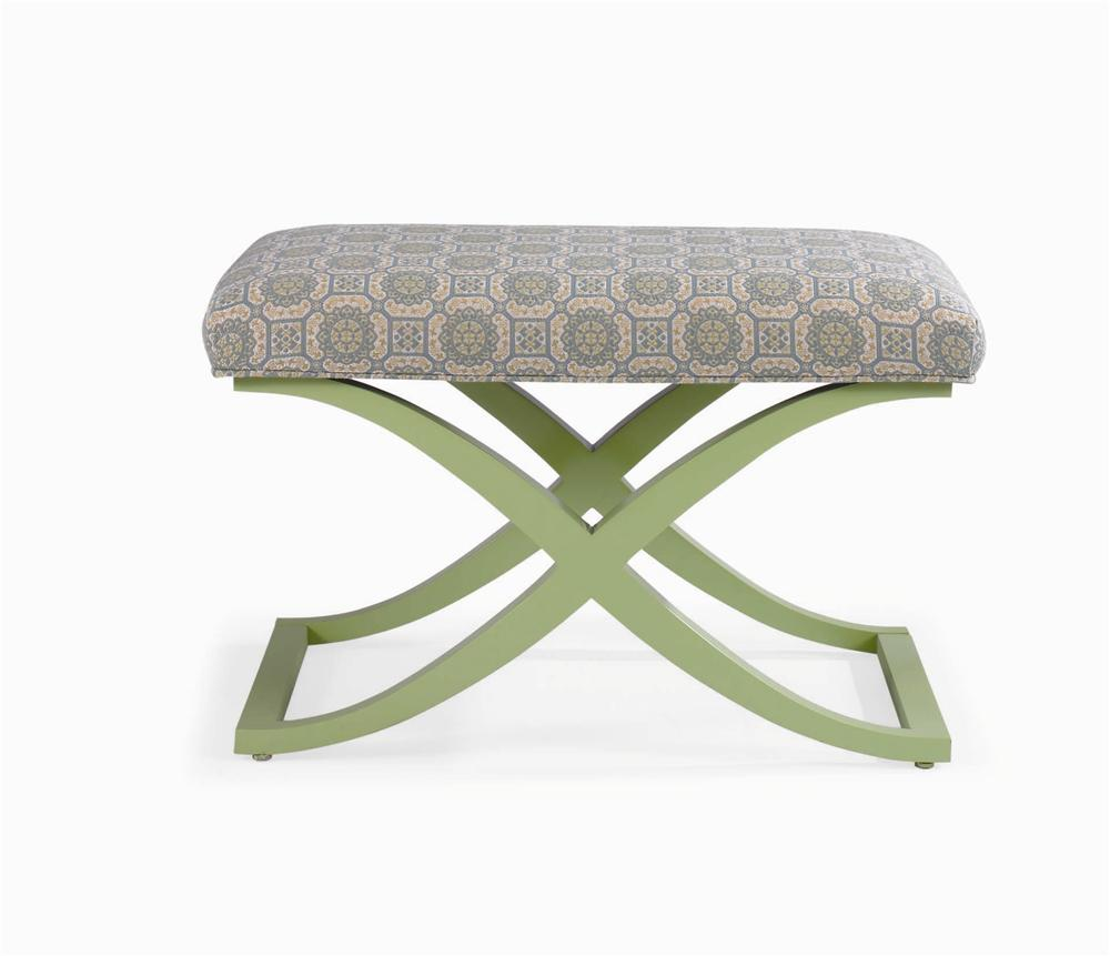 Metro Lux Bench by Century at Baer's Furniture