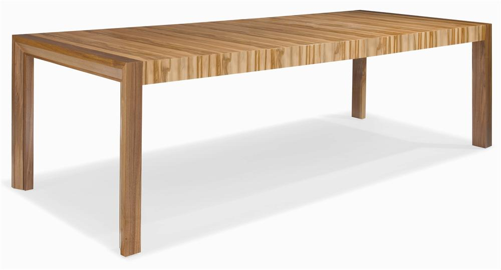 Milan Parson's Dining Table by Century at Baer's Furniture