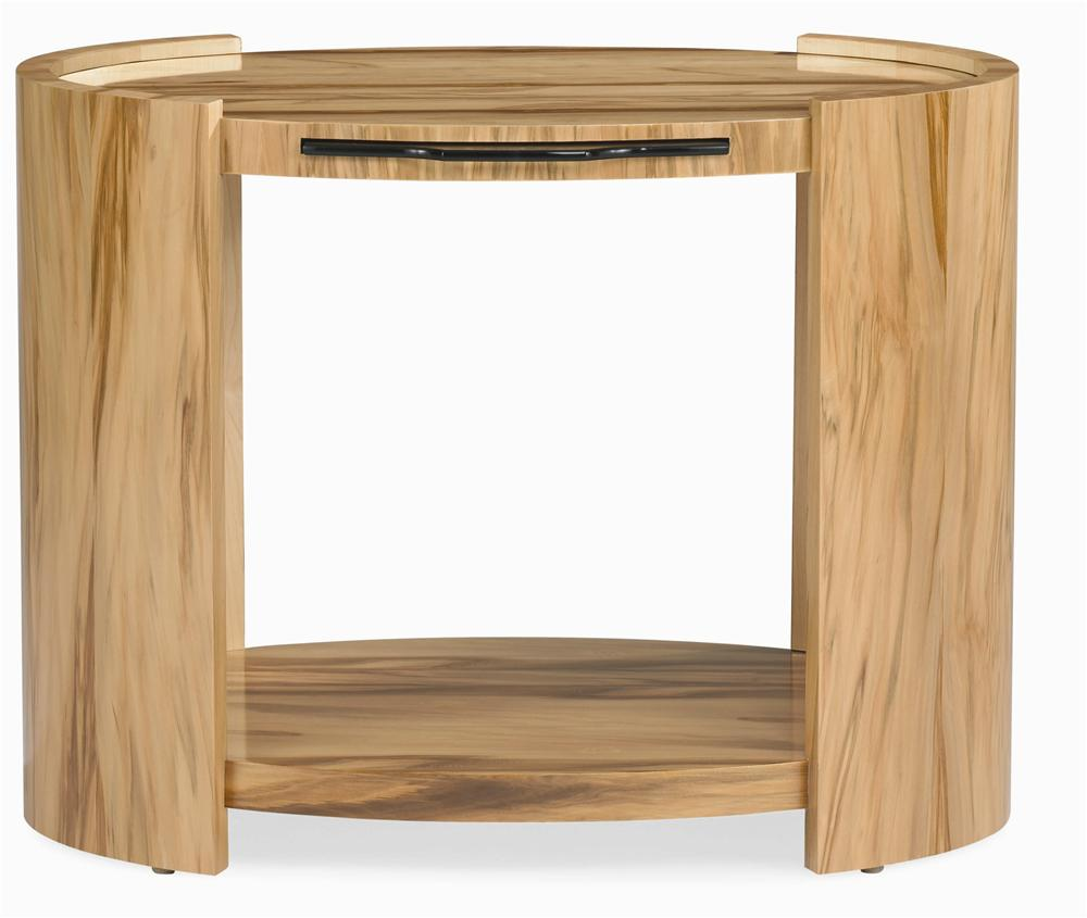 Milan Side Table by Century at Baer's Furniture