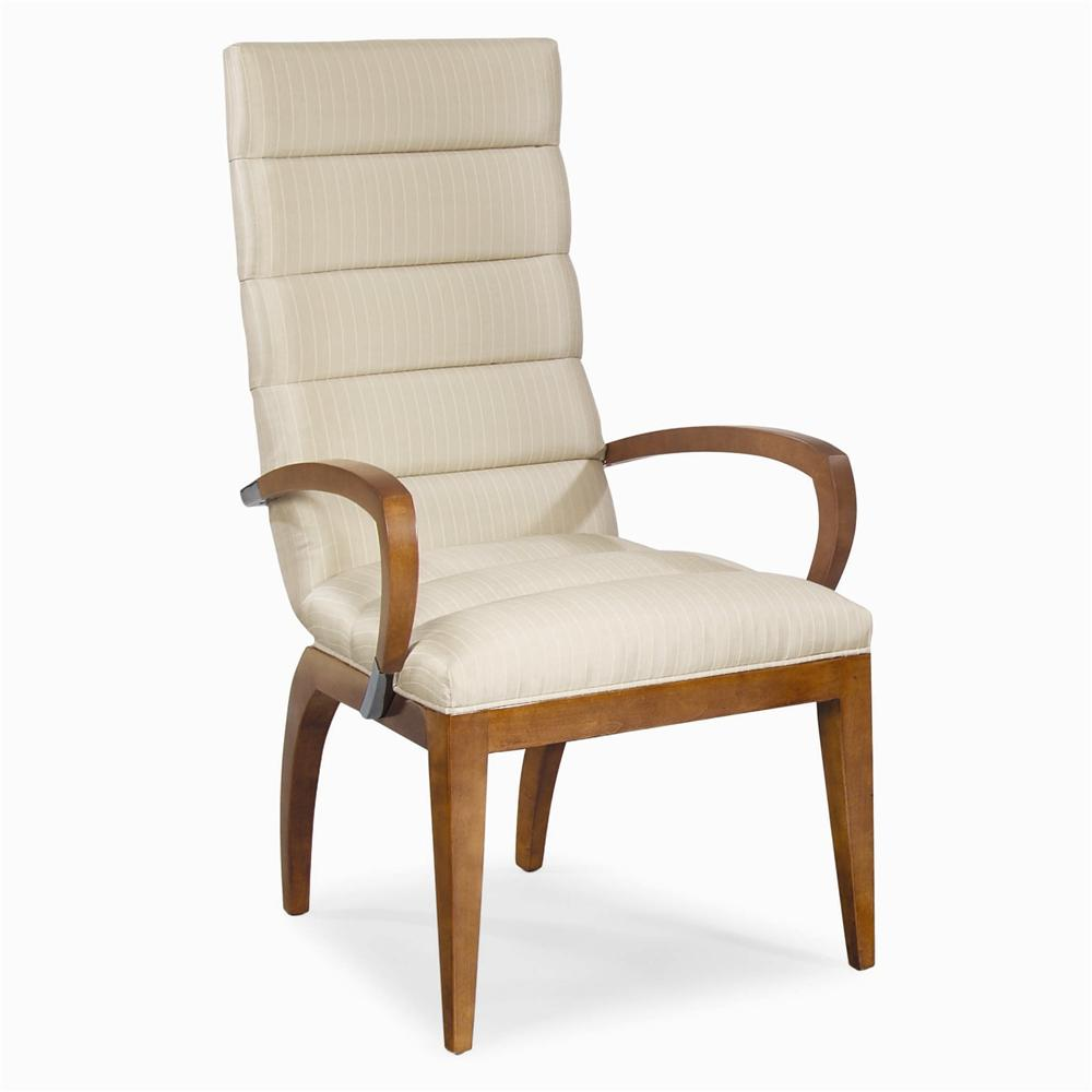 Milan Dining Arm Chair by Century at Baer's Furniture