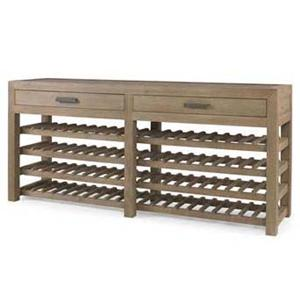 Century Monarch Fine Furniture Dry Creek Winemaker's Console