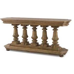 Century Monarch Fine Furniture Balustrade Console Table