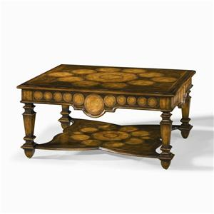 Century Monarch Fine Furniture Wedding Ring Cocktail Table