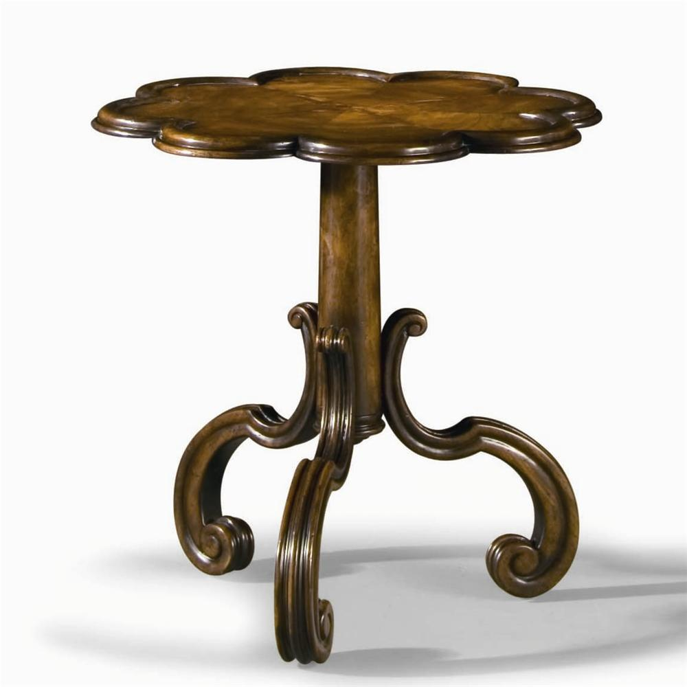 Monarch Fine Furniture Court Pie-Crust Table  by Century at Baer's Furniture