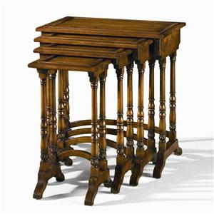 Century Monarch Fine Furniture Rustic Nesting Tables
