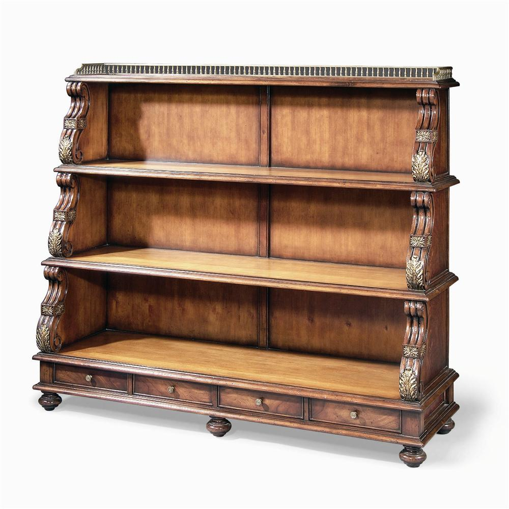 Monarch Fine Furniture Regency Revival Bookshelf by Century at Baer's Furniture